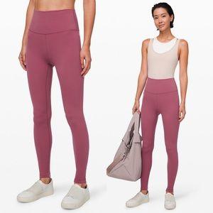 lululemon 🍋 align pant leggings in plumful EUC